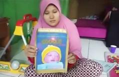 Mã de menino indonésio registrado como Google Mã de menino indonésio registrado como Google (Foto: Reprodução)