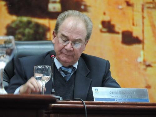 Desembargador acatou recurso de Idenor e suspendeu sessão que iria julgá-lo por suposta quebra do decoro parlamentar (Foto: André Bento)