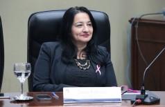 Denize Portolann foi absolvida da acusação de quebra do decoro parlamentar (Foto: Divulgação)