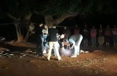 O corpo foi encontrado na noite de ontem - Foto: divulgação/PM