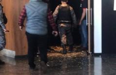 O assassinato aconteceu na tarde de ontem, dentro de uma sala de cinema no shopping de Dourados. Foto: Reprodução