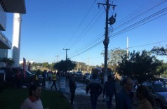 Assassinato foi cometido ontem, com local cheio de crianças (Foto: 94FM)