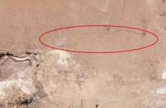 Imensa rachadura na Califórnia registrada por satélite Foto: Reprodução/Planet Labs