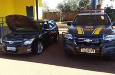 PRF de MS recupera carro roubado há 7 anos