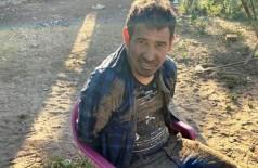 """Fredy Ariel Irala Fernandes, o """"Lico'í"""", chefe local do tráfico preso hoje em Capitán Bado (Foto: ABC Color)"""
