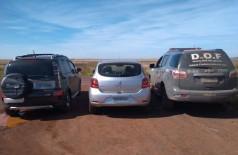 Carro apreendido - Foto: DOF