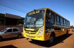 O transporte escolar do município não vão mais passar na área urbana - Foto: A. Frota