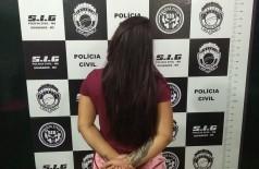 Em prisão domiciliar, Patrícia voltou a ser autuada por tráfico de drogas (Foto: Sidnei Bronka)