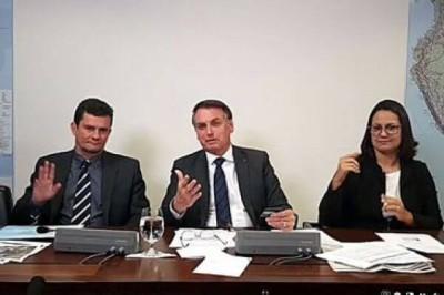 Live semanal do presidente Jair Bolsonaro - Jair Bolsonaro/Redes sociais