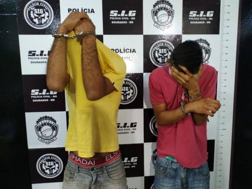 Raimundo Gabriel Teixeira da Silva e Gabriel Costa Santos  - Foto: Sidnei Bronka