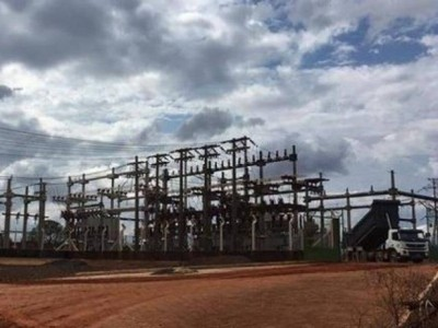 Subtestação da Elektro em Três Lagoas, que terá redução na tarifa de energia. (Foto: Perfil News)