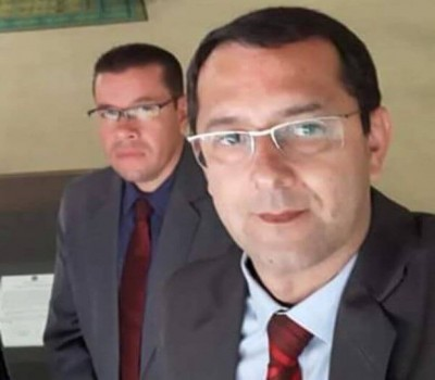 Cirilo e Pepa devem permanecer afastados da função de vereador e até a conclusão do inquérito (Foto: Reprodução)