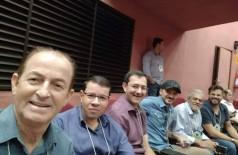 Vereadores participantes de seminário em Campo Grande divulgaram foto durante o evento (Foto: Reprodução)