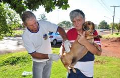 Campanha de vacinação de cães e gatos está concentrada esta semana na região do Jardim Água Boa (Foto: Divulgação/CCZ)