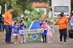 Desfile cívico da Creche André Luiz celebrou Independência do Brasil (Fotos: Eliel Oliveira/Divulgação)