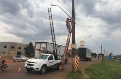 Prefeitura quer extinção de processo que acusa falhas na iluminação pública (Foto A. Frota)