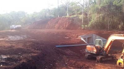 Obra na avenida entrou na fase final, segundo a prefeitura (Foto: Divulgação)