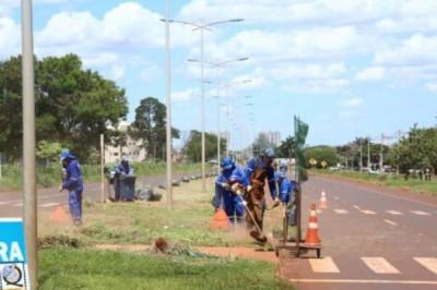 Megalicitação de R$ 39 milhões quer contratar empresa para limpeza pública em Dourados (Foto: A. Frota)