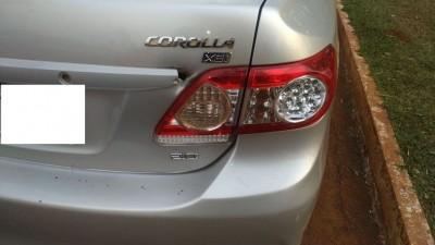 Vítima emitiu alerta e polícia conseguiu encontrar veículo (Foto: Reprodução)
