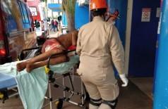 O jovem foi esfaqueado diversas vezes. Foto: Sidnei Bronka