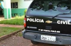 Homem foi preso e levado para a Delegacia de Polícia Civil de Ponta Porã. (Foto: Ponta Porã Informa)
