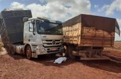 O acidente aconteceu por volta das 07h de hoje - Foto: divulgação/94FM