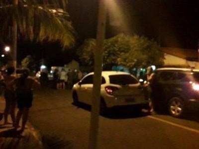 PMA matou esposa na casa dos pais, em Paranaíba (Foto: JPNEws)