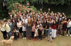 Flordelis com os filhos: eleita com quase 200 mil votos - Foto: Reprodução