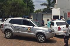 Local onde ocorreu o duplo homicídio - Foto: Porã News