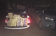 Veículo apreendido com drogas - Foto: DOF