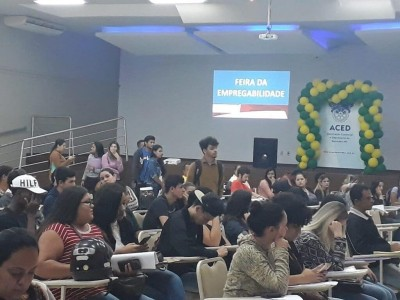 Evento na quinta-feira, na Aced, reunirá empresas para divulgar vagas (Foto: Divulgação)