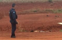 O homem foi encontrado morto em uma estrada de terra na manhã de hoje -Foto: Porã News