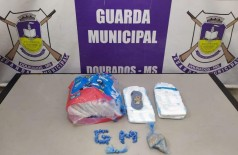 Droga foi apreendia pela Guarda - Foto: GMD