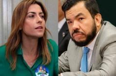 Senadora Soraya Thronicke dá emprego para irmão do deputado federal Loester Carlos (Foto: Jones Mário)