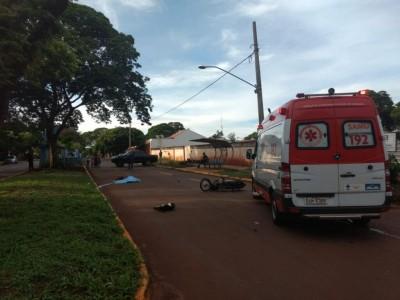 O acidente aconteceu na manhã deste domingo - Foto: Adilson Domingos