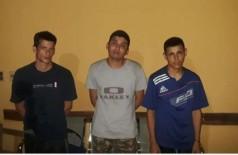 Na sequência: José, Ronald e Orlando - Foto: ABC Color