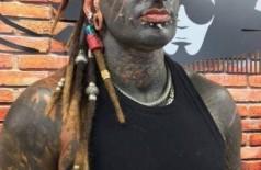 Michel mudou a aparência com tatuagens e piercings - Foto: Instagram @diabaopraddo / Reprodução