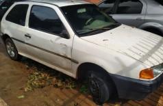 Veículos furtados foram abandonados após colisões (Foto: Sidnei Bronka)