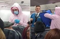 Músico diz estar infectado com o coronavírus a bordo de avião (Foto: Reprodução/Facebook)