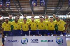 Foto: CBFS - Confederação Brasileira de Futsal