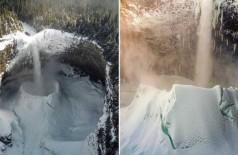 Helmcken Falls, no Canadá - Foto: Reprodução/Instagram(mounntaingoat)