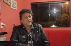 O jornalista Léo Veras falando sobre sua morte  (Foto: reprodução/vídeo)
