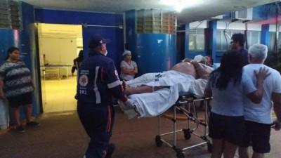 Homem pediu socorro na UPA, mas foi transferido ao Hospital da Vida - Foto: Sidnei Bronka