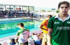 Nadador de 15 anos é especialista nas provas de 50m, 100m e 200m livre (Foto: Divulgação)