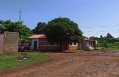 Casa do jornalista no Jardim Aurora, Pedro Juan Caballero, onde ele foi assassinado / Foto:  Angelina Nunes - Abraji.