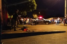 Langão foi atingido com vários tiros - Foto: Sidnei Bronka