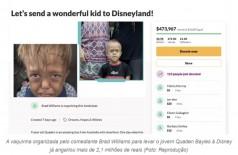 Família de menino com nanismo doa para caridade R$ 2 milhões (Foto: Reprodução)