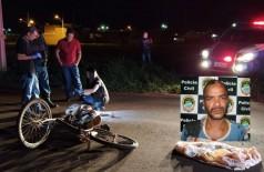 HOMEM FOI EXECUTADO NA RUA - Foto: Sidnei Bronka