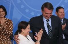 Atriz assumiu nesta quarta-feira Secretaria Especial da Cultura (Foto: Antonio Cruz/Agência Brasil)