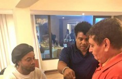 Ronaldinho e o irmão não estão detidos, mas permanecem em Assunção, sob custódia (Foto: Divulgação/ Ministério Público do Paraguai)